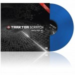 Native Instruments TRAKTOR SCRATCH CONTROL VINYL MK2 BLUE