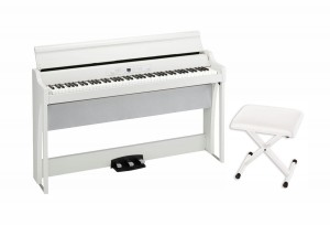 KORG G1 Air WH pianino cyfrowe + KORG PC110 WH stołek do pianina