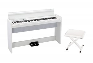 KORG LP380 WH pianino cyfrowe + Korg PC110 WH stołek do pianina