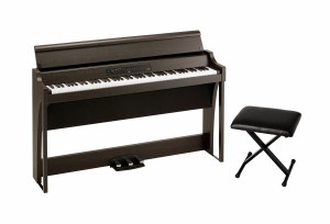 KORG G1 Air BR pianino cyfrowe + Korg PC110 BK stołek do pianina