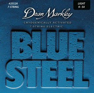 Dean Markley Blue Steel 2552A LIGHT 9-54 struny do gitary elektrycznej 7 strun