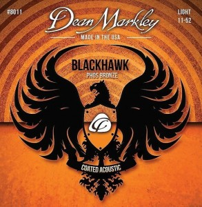 DEAN MARKLEY 8011 LT Blackhawk Coated Acoustic 11-52 struny do gitary akustycznej