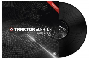 Native Instruments TRAKTOR SCRATCH Control Vinyl Black MK2