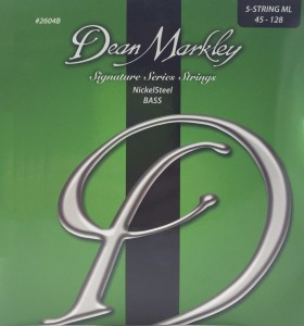 DEAN MARKLEY 2604B ML Signature Nickel Steel 5 strun 45-128 struny do gitary basowej